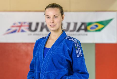 Unstoppable Girl....BJJ White Belt and Student at City University Maria Rybak