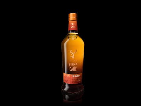 Fire & cane Bottle
