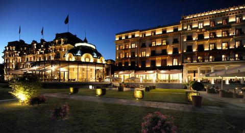 Beau-Rivage Palace, Lausanne