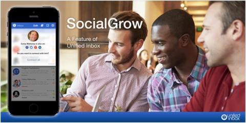 Unified Inbox continues aggressive growth, acquires U.S. startup SocialGrow, names Ken Herron Head of Marketing
