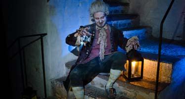 Ny karaktär i Kalmar Slotts spökvandring