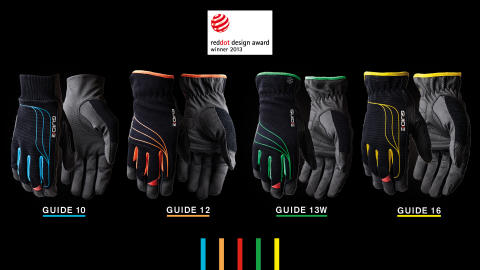 "Swedish Guide's design receives international acclaim Protective glove receives the world's greatest design accolade ""Red Dot: Product Design Award"""