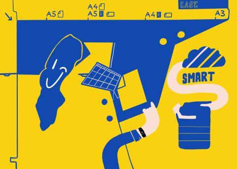 Utskriftstjänst som heter Smart Service_bild