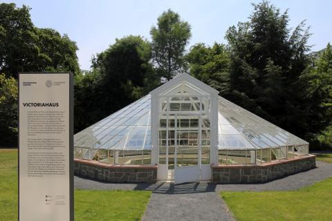 Eskapaden - Botanischer Garten - Victoriahaus