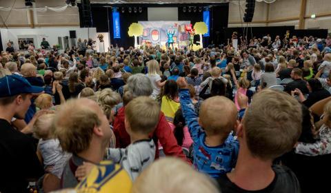 Sjätte dagen av Stora Nolia bjöd på fullsatt succémusikal med Babblarna