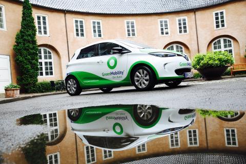 Renault dominerer elbils markedet i Danmark