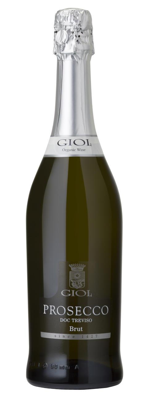 GIOL Organic Prosecco Brut - en ren ekologisk Prosecco från Italiens äldsta vinproducent