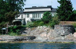 Dalarö, Baldersvägen 44-48 på Gula listan