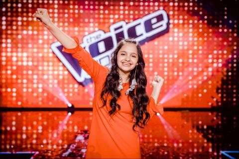 LIVE Entertainment verwelkomt Katarina, de kersverse winnares van The Voice Kids 2017