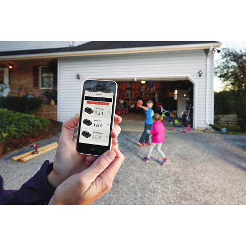 Lock and unlock your batteries remotely with the BLACK+DECKER™ Mobile App