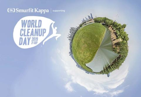 Smurfit Kappa stödjer World Cleanup Day