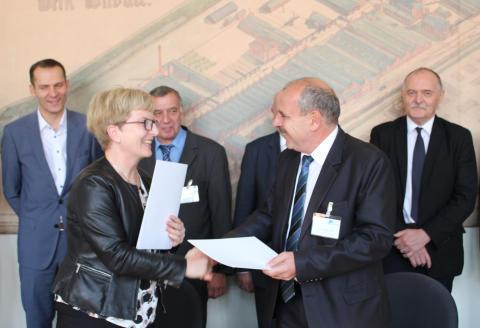TH Wildau und Óbuda Universität Budapest vertiefen ihre Kooperationsbeziehungen
