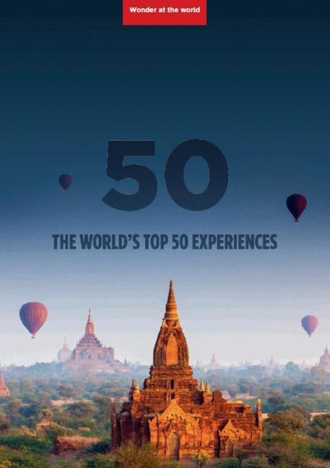 Now is the time to explore and discover 'The World's Top 50 Experiences' with Fred. Olsen Cruise Lines
