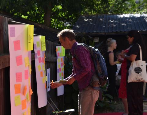 Almedalsveckan: Cirkeldeltagares vägar till kultur, arbetsliv och demokrati