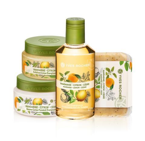 Les Plaisirs Nature Energizing Mandarin Lemon Cedar packshot