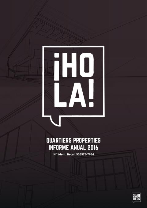 Quartiers Properties - Informe anual 2016
