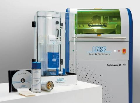 Metallisering av 3D-komponentbärare med ProtoPlate LDS