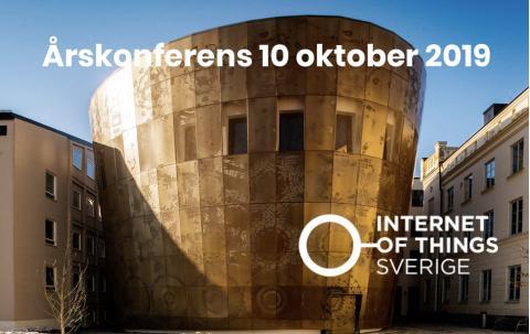 IoT Sveriges årskonferens 10 oktober 2019 i Uppsala