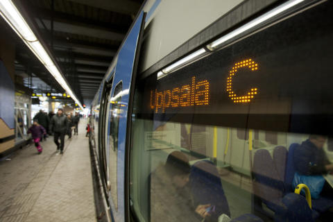 Nya pendeltågslinjen mellan Älvsjö och Uppsala invigd