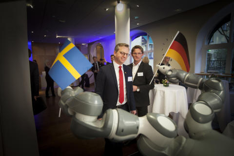 Mikael Damberg beim German Swedish Tech Forum 1