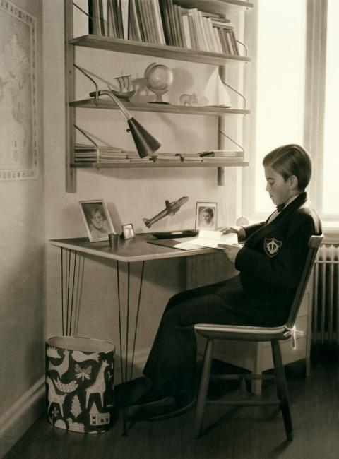 Gunnel Wåhlstrand, Skrivbordet, 2004