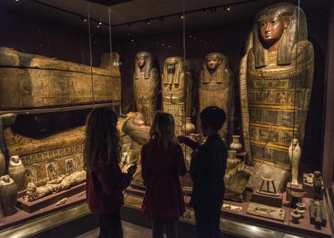 Familjelördagar på Medelhavsmuseet: Faraoner, mumier och hieroglyfer