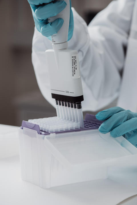 Pipettering - DNA-test