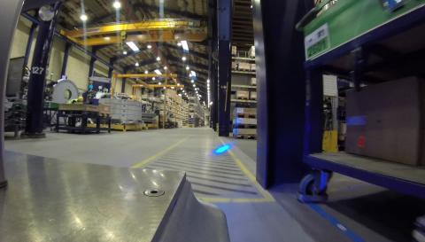 Collaborativ robot hos Vestas