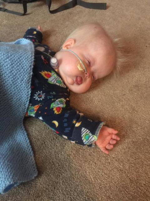 Ewan wins Frugi's Pyjama Party Sleeping Beauty Competition