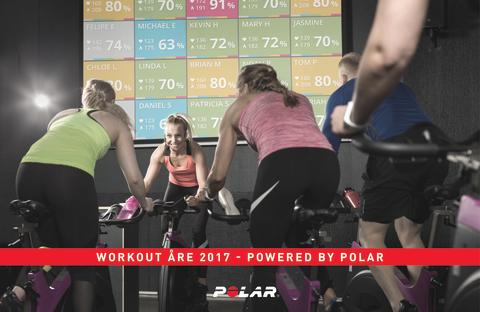 Polar tar pulsen på Workout Åre