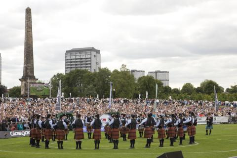 World Pipe band Championships being held in Glasgow for 30th consecutive year