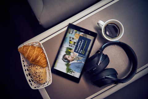 Sony et Eurostar inaugurent un « Menu audio »