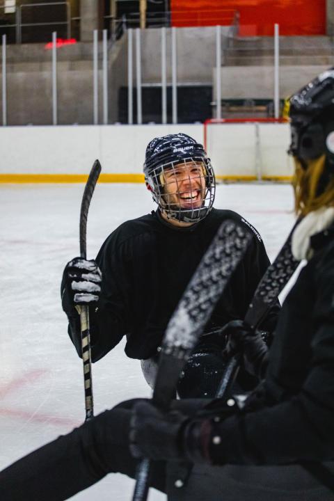Paraishockey hos Göteborg Hockey Club