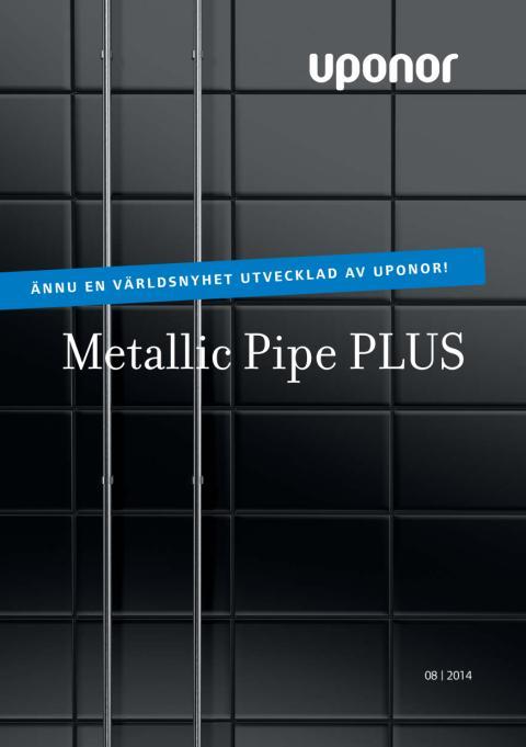Uponor Metallic Pipe PLUS folder