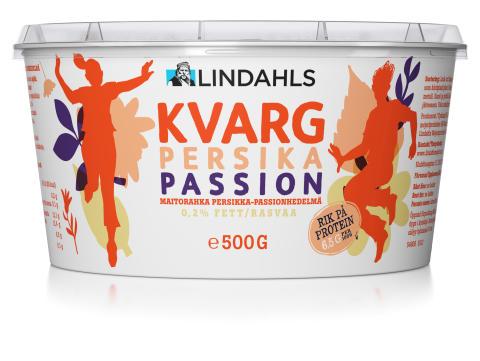 Kvarg Persika-passion 500 gram