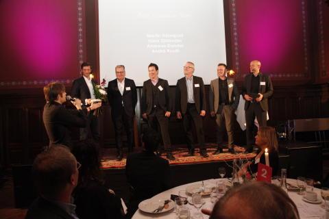 Grundarna av Umia korade till Årets Grundare Norr