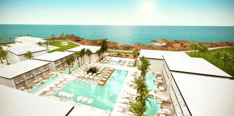 Uutta ensi kesänä - Tjäreborg avaa kolmannen Ocean Beach Club -hotellinsa Kyprokselle