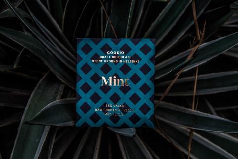 Ekologisk rawchoklad med mint
