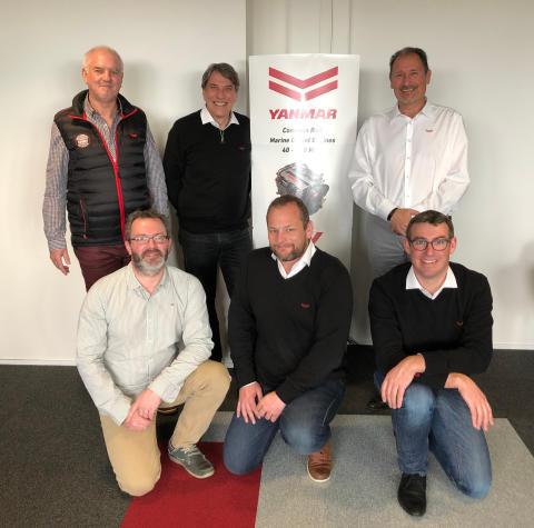 Hi-res image - YANMAR - The new team at YANMAR France SAS in La Roche-sur-Yon