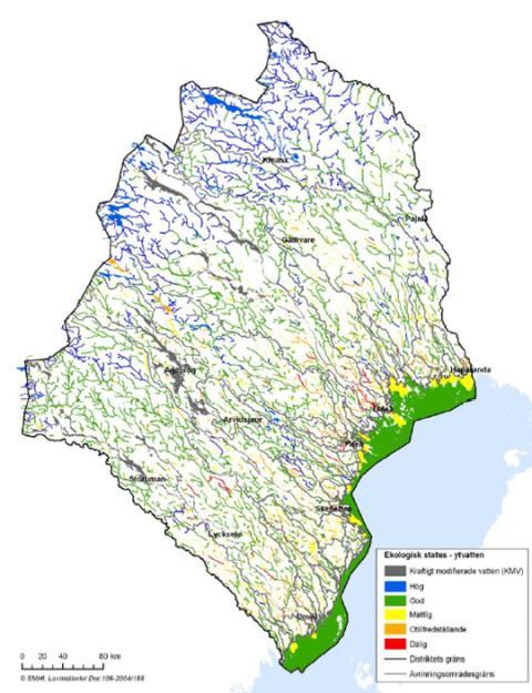 HaV klar med regler för miljöstatus för svenskt ytvatten