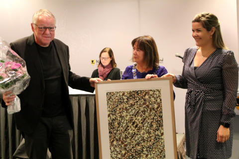 Roy Jacobsen tildelt Nordland fylkes kulturpris