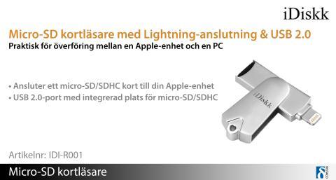 iDiskk förenklar anslutning mellan Apple-enheter och en PC