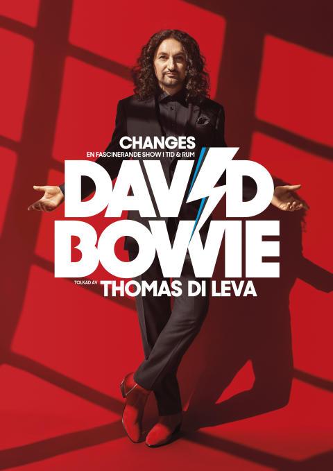"""""""CHANGES"""" - David Bowie tolkad av Thomas Di Leva, vårens stora show på Hamburger Börs"""