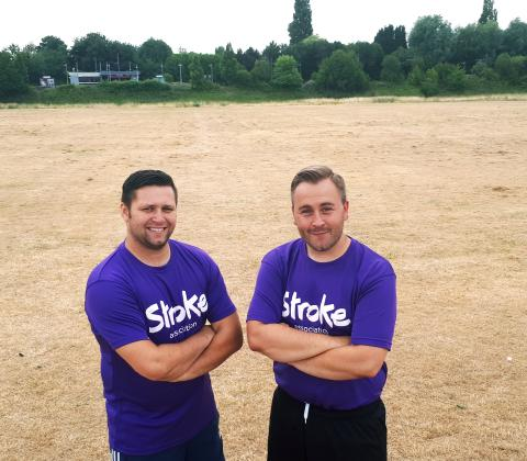 ​Tipton man organises Scoring Against Stroke for his dad