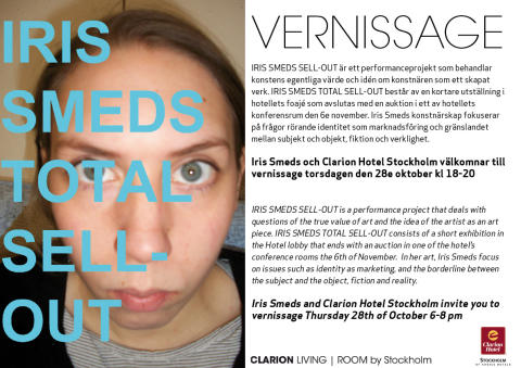 Vernissage Iris Smeds Total Sell-Out
