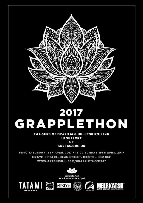 Bristol Grapplethon 2017 Official Poster