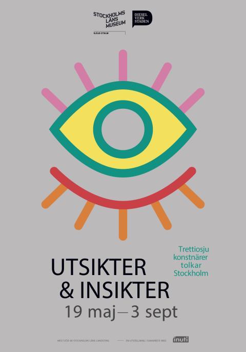 Utsikter och insikter: Trettiosju konstnärer tolkar Stockholm