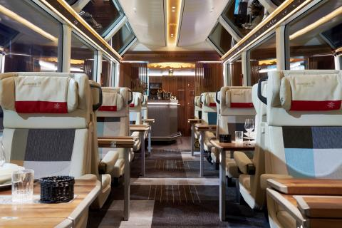 Die neue Excellence Class des Glacier Express
