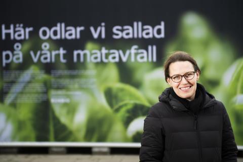 Ann Holster, ansvarig för IKEA Sveriges restaurangverksamhet