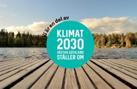 Wästbygg undertecknar Klimat 2030 Västra Götaland ställer om.